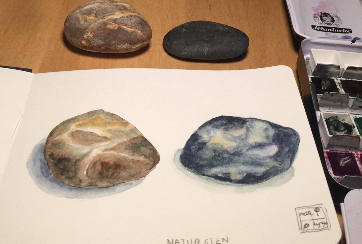 Natur sten - student project
