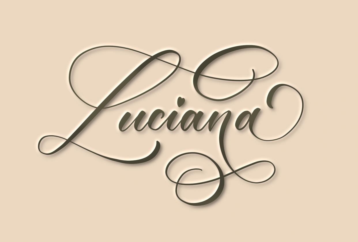 Flourishing my name - student project