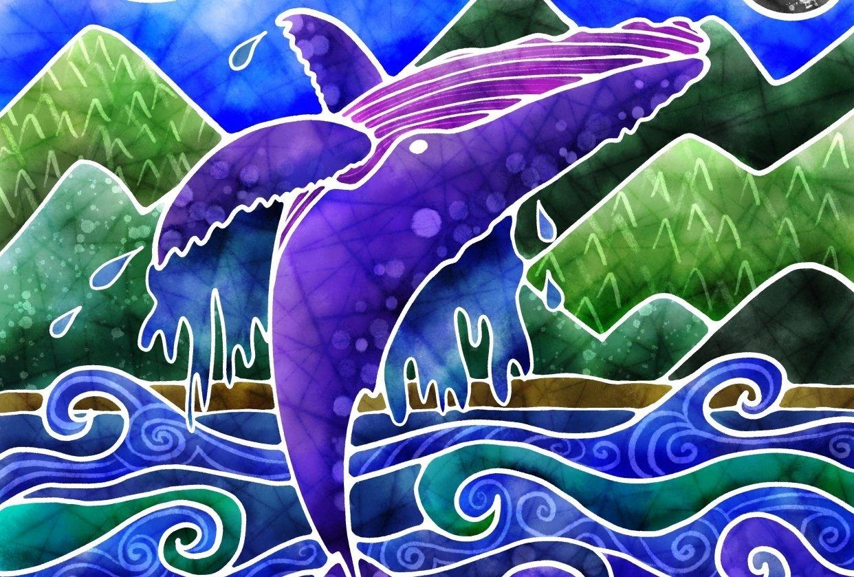 Jumping humpback - student project