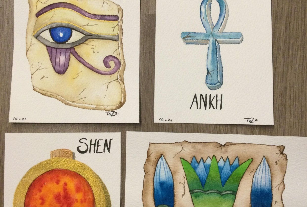 Egyptian Artefacts Part 1 - student project