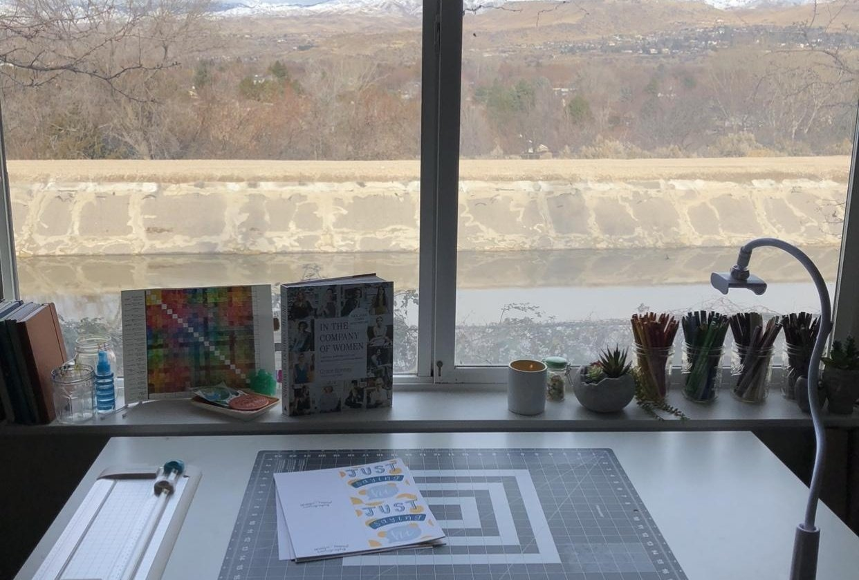 My workspace! - student project