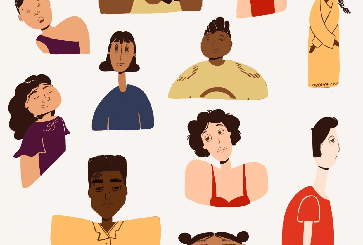 Unfamiliar faces - student project