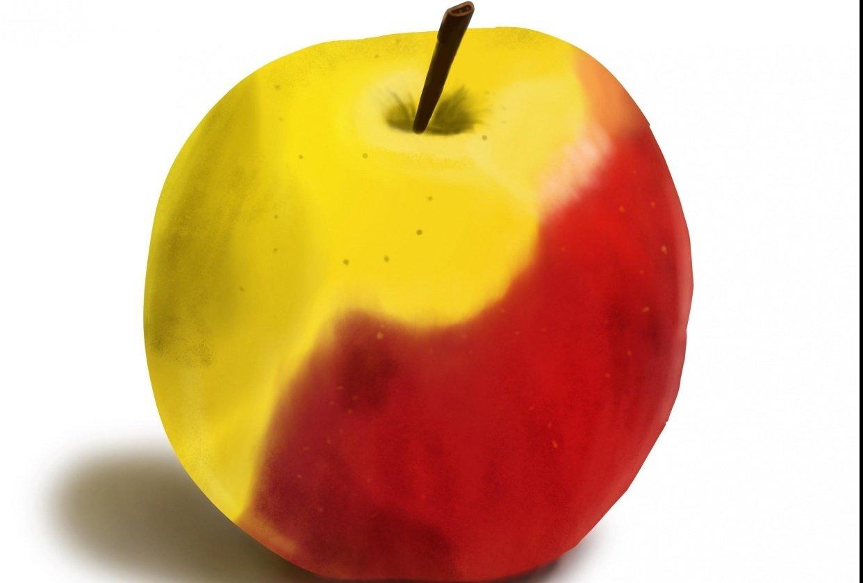 Procreate Apple - student project