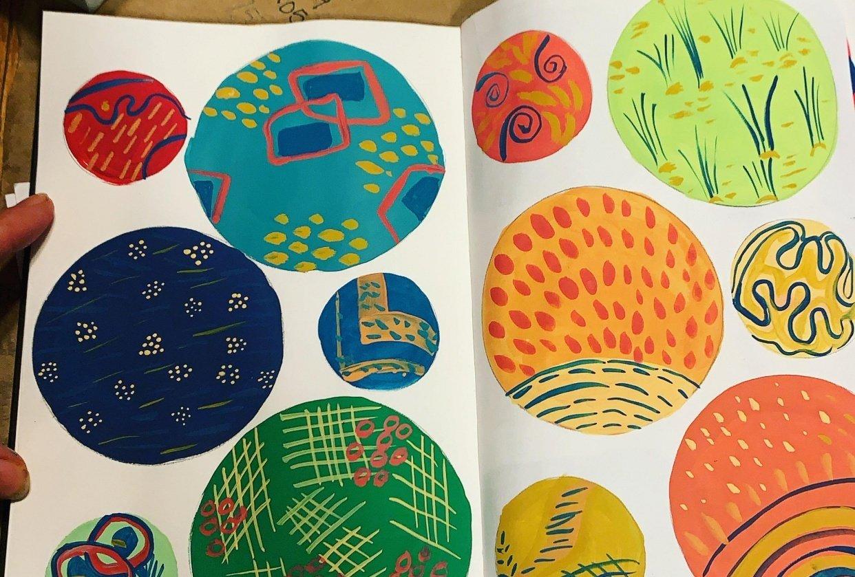 Pattern making - student project