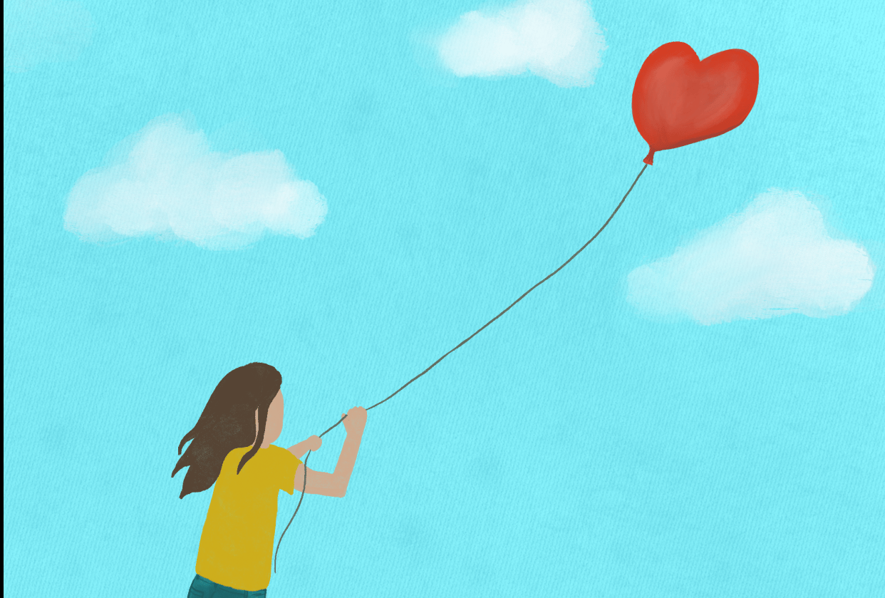 Animated Illustration: Balloon - student project
