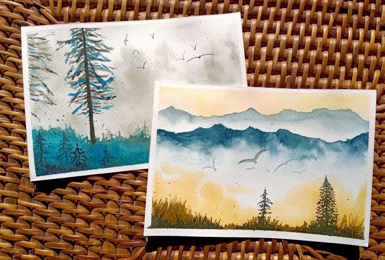 Misty Landscapes - student project