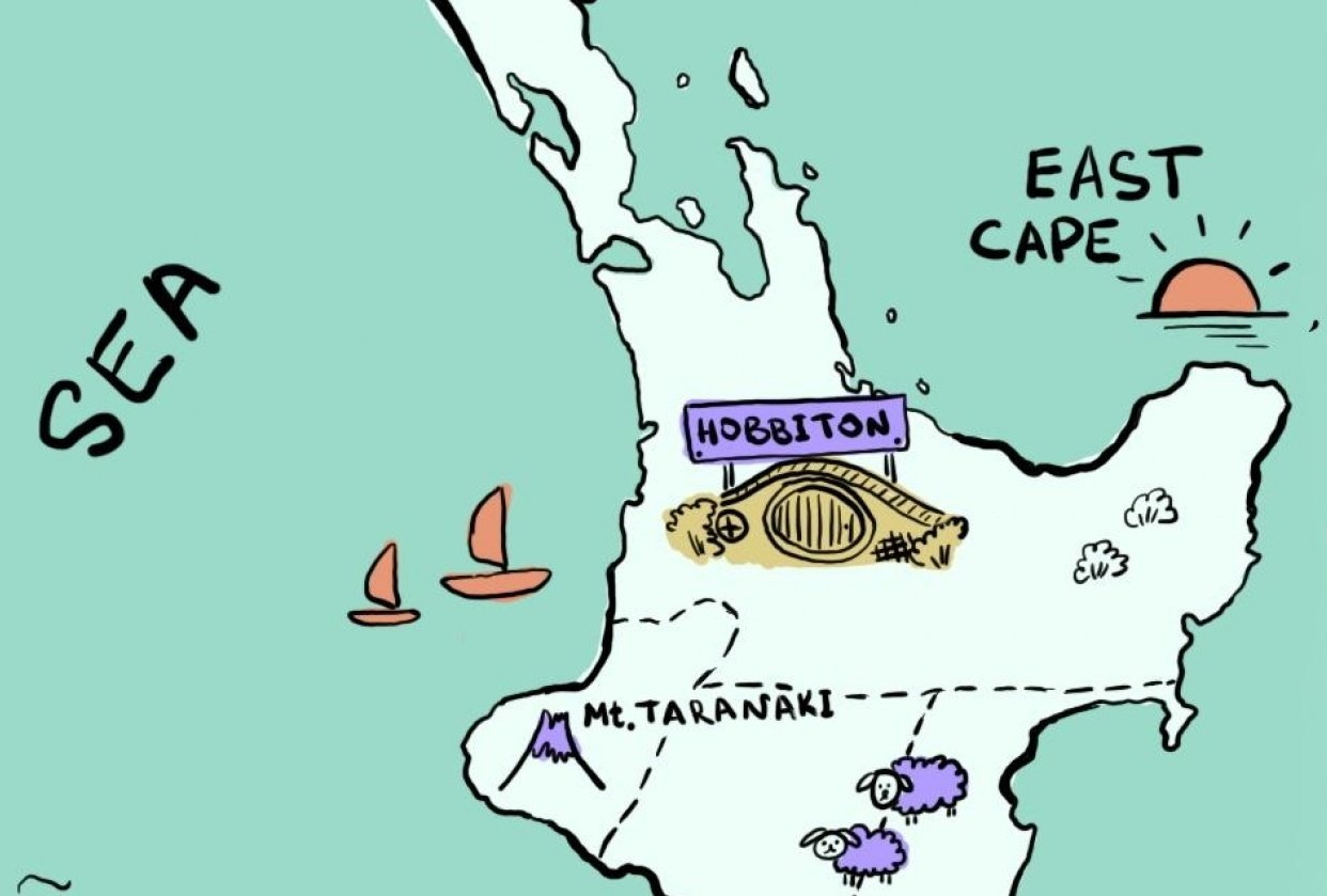 New Zealand - student project