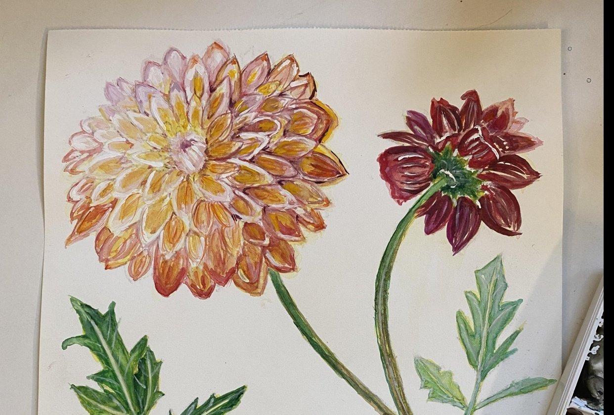Vintage Botanicals - student project