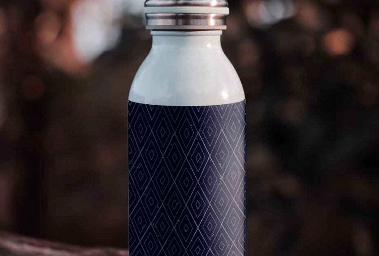 Water Bottle Mockup - student project
