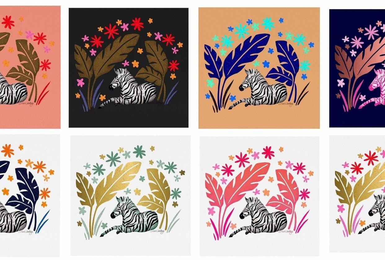 Zebra by Linda Sholberg - student project