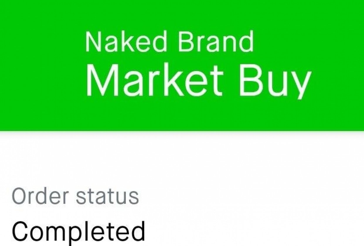 Bought Naked Brands - student project