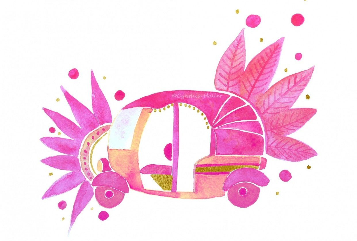 Groovy Rickshaw - student project