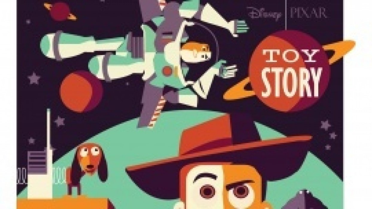 Disney Toy story - student project