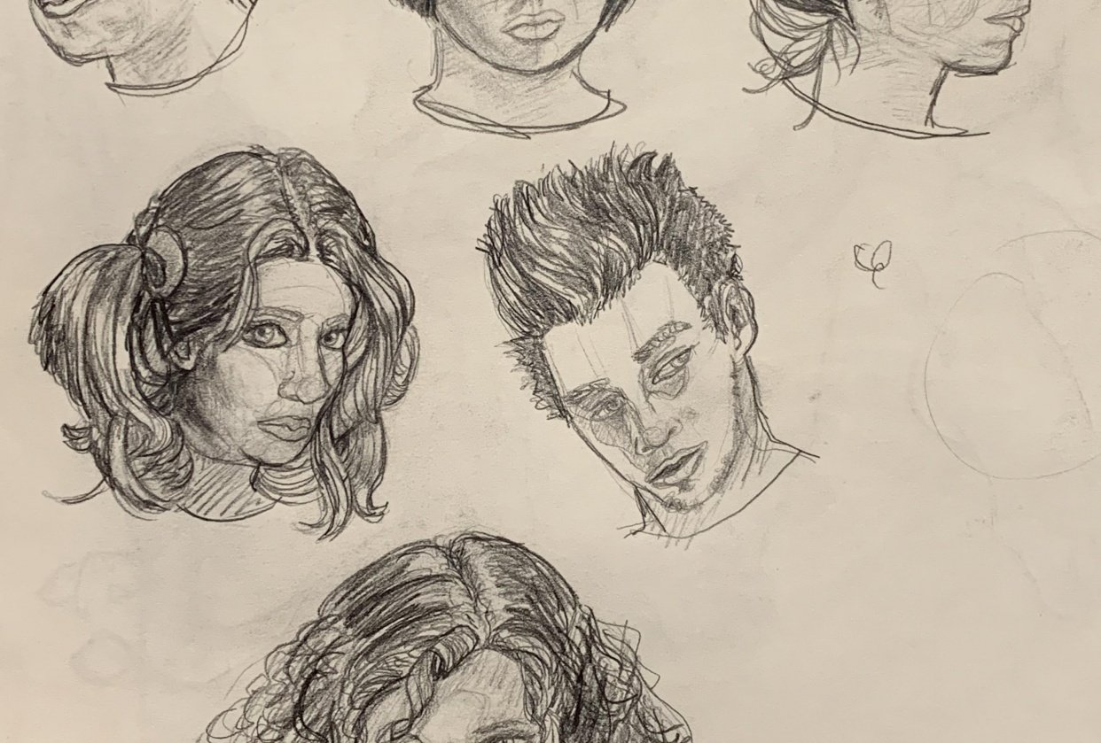 Hair Practice - student project