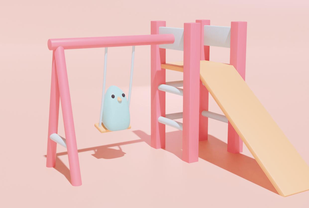 Swingin' Bird - student project
