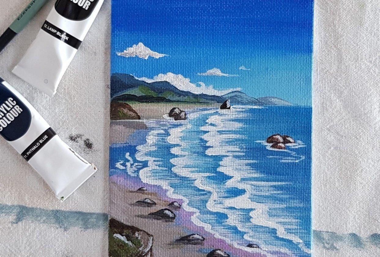 Seascape - student project