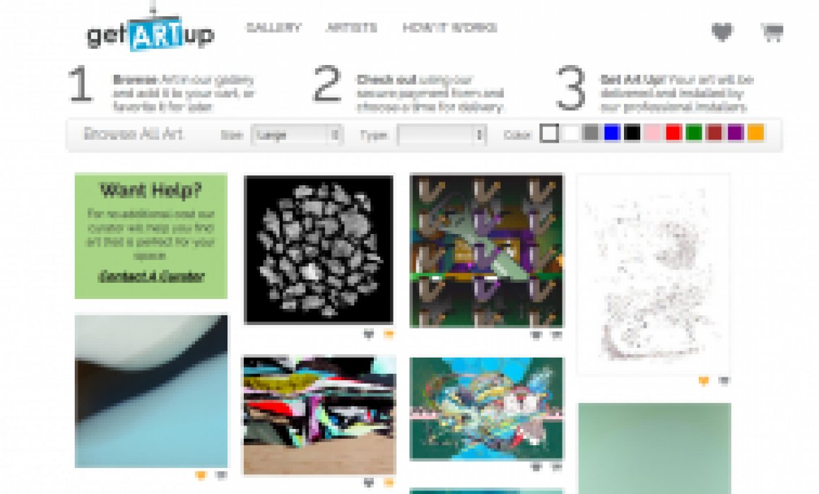 Fine Art/Subscription Economy/E-commerce - student project