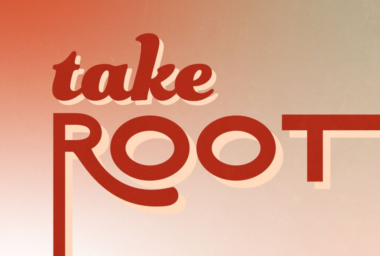 take root | my first manipulation with type - student project