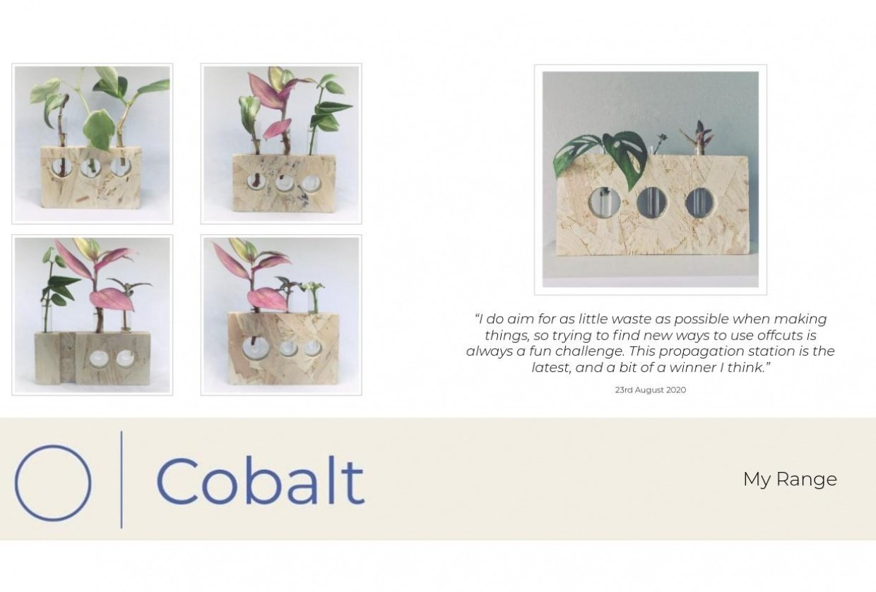 Cobalt Creations - student project