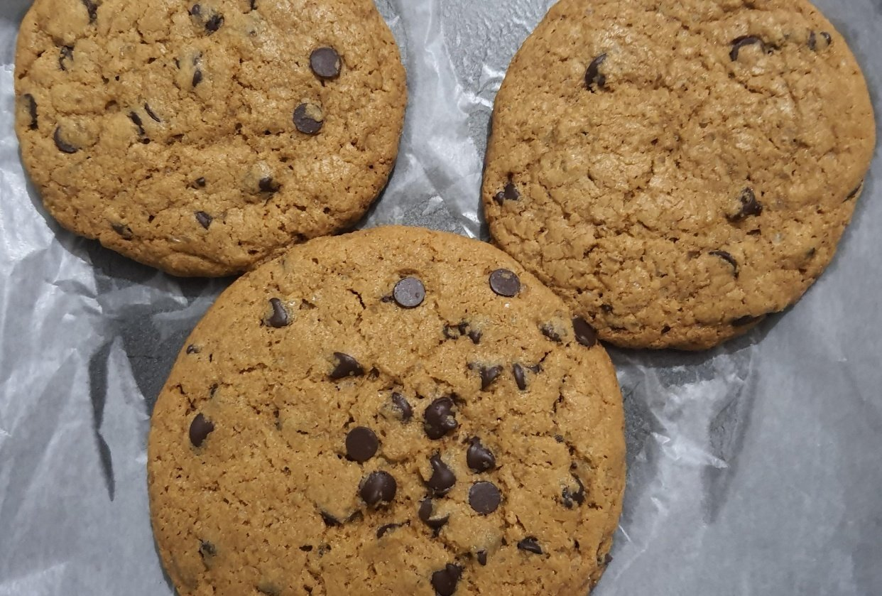 Chocolate Chip Cookies Batch 1 - student project