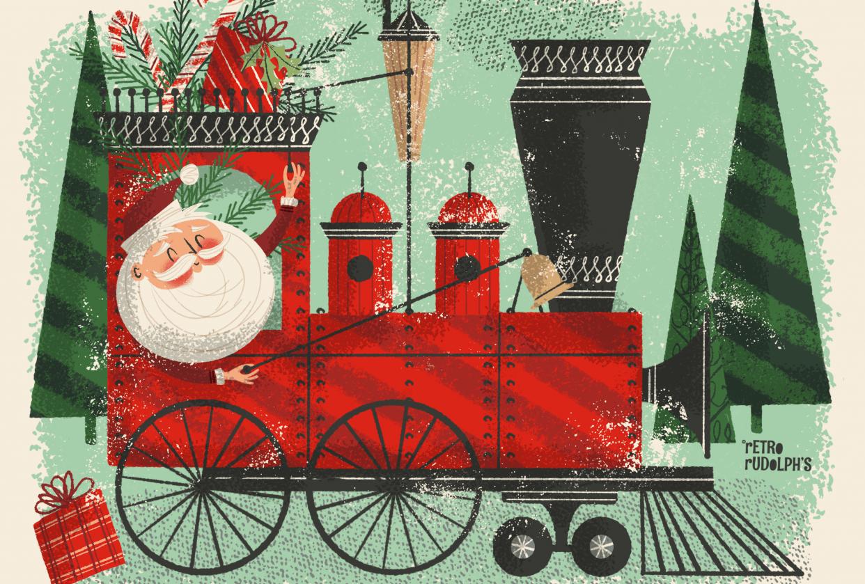 The Santa Train - student project