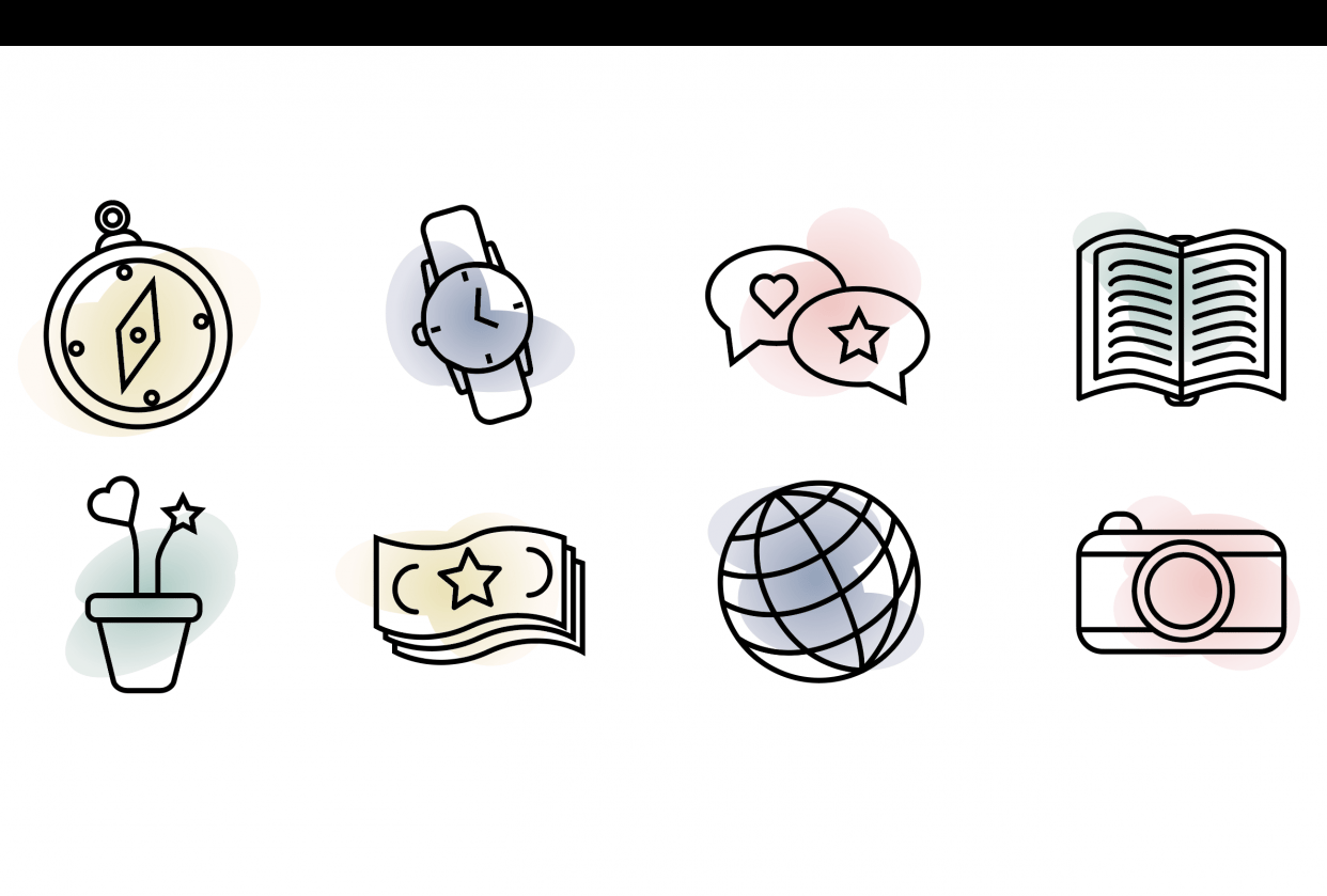 Icons - student project