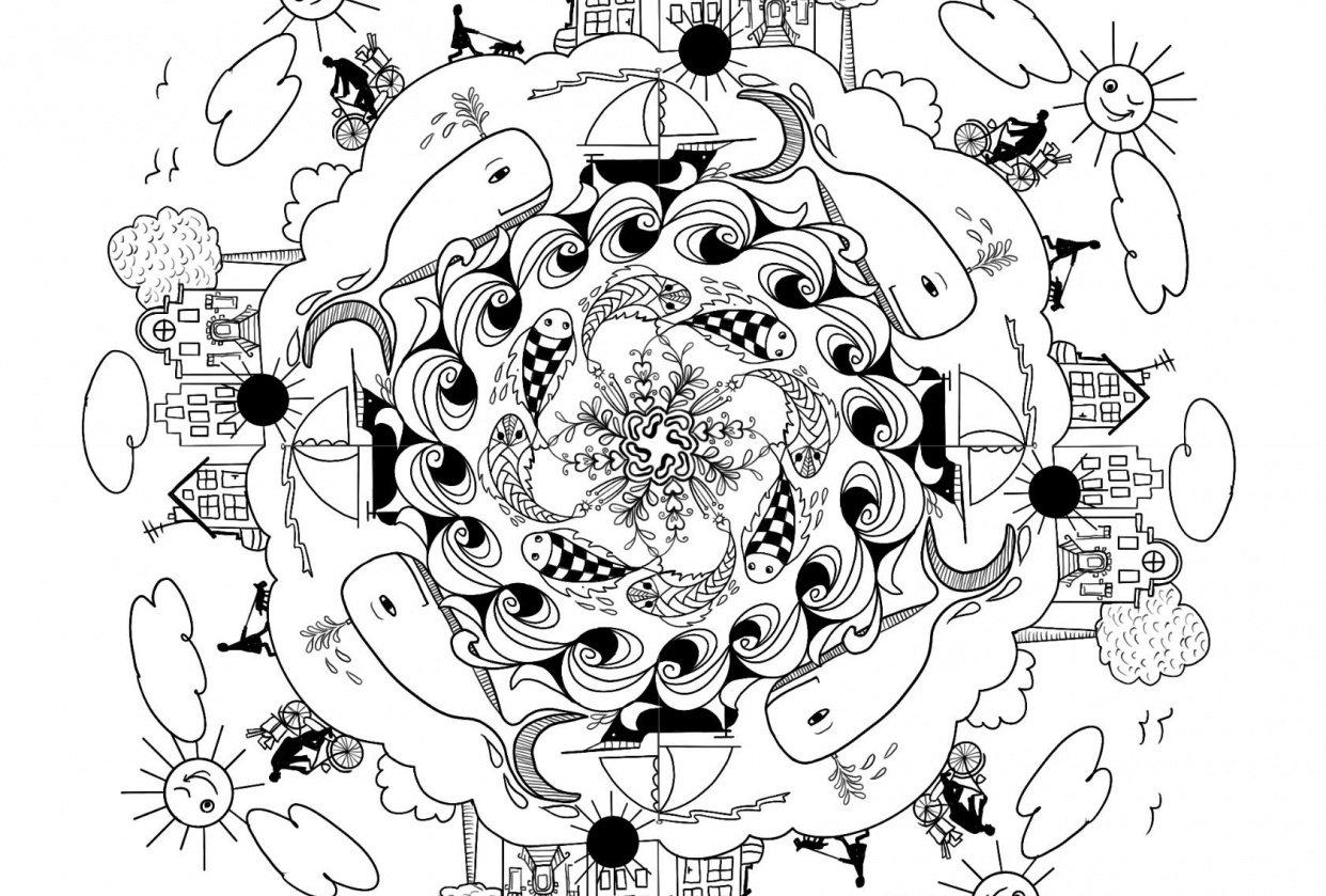 My Mandala - student project