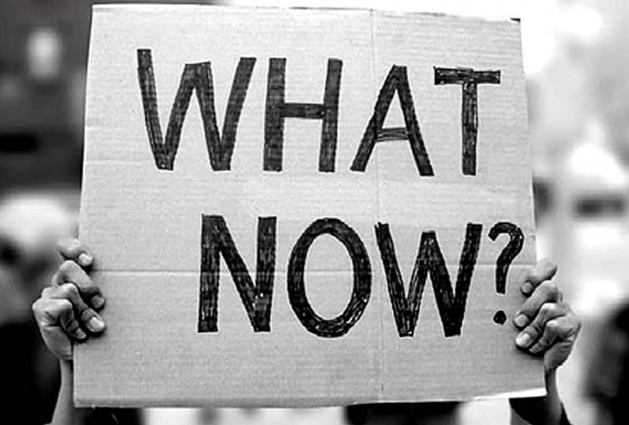 What now? What's next? - student project