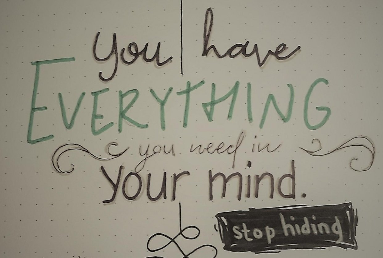 """Stop hiding your """"mind"""" - student project"""