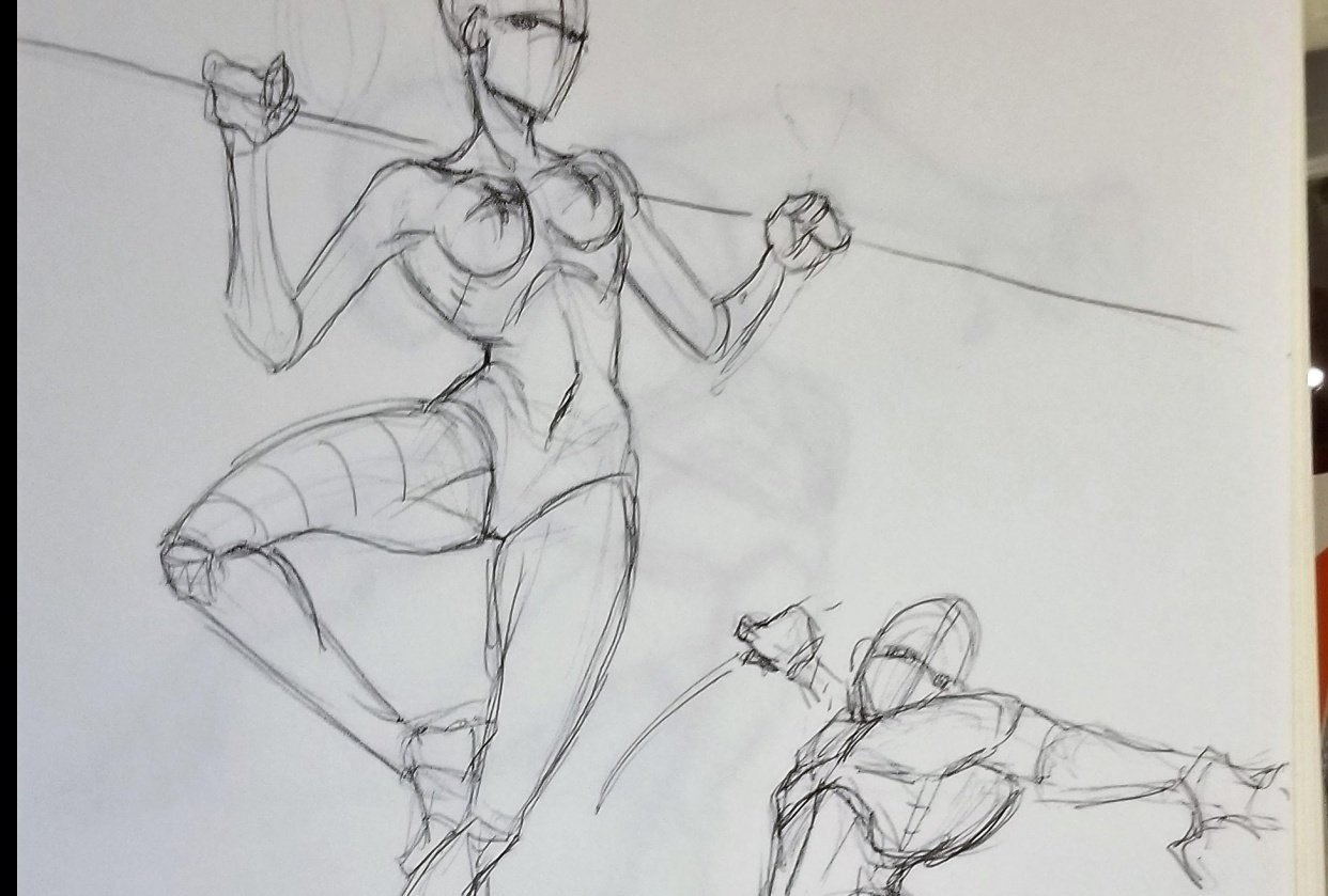 Dynamic Pose practice - student project