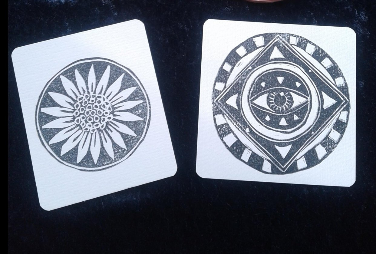 Oracle Deck - student project