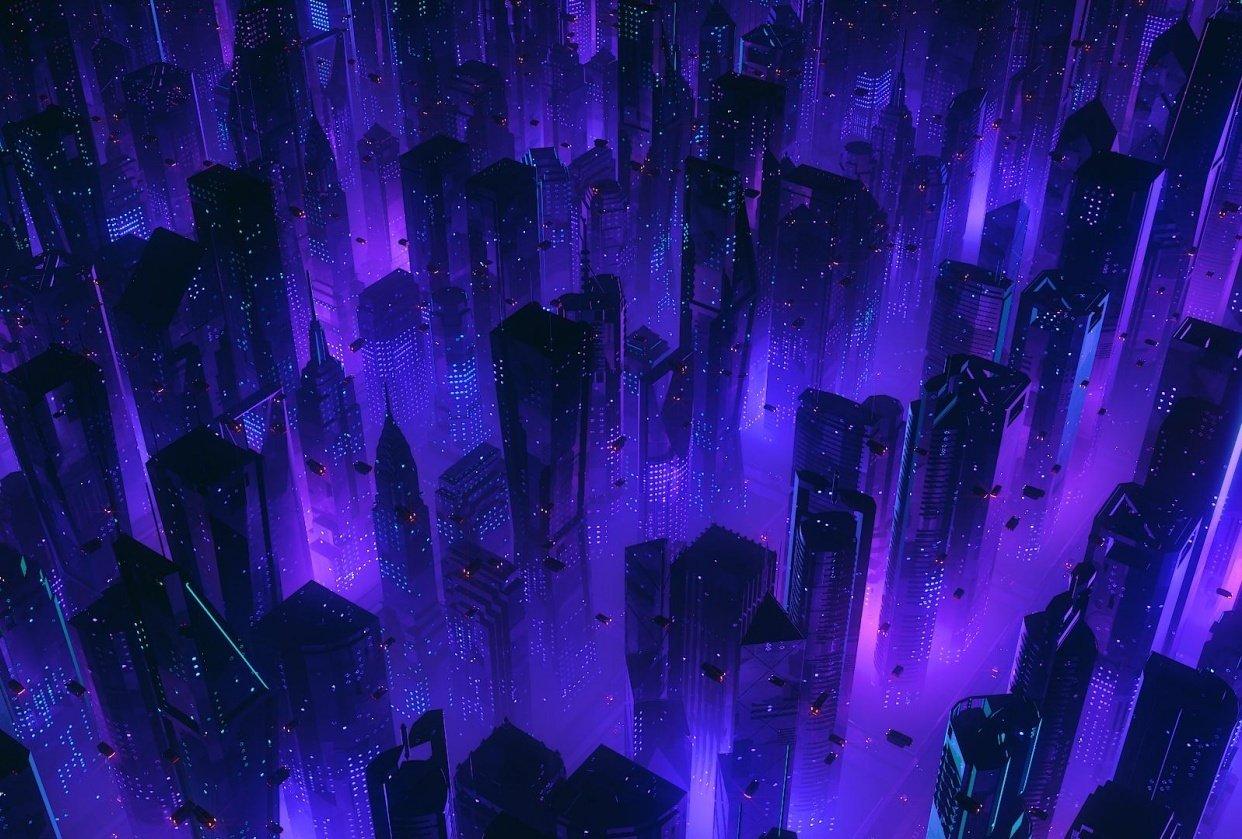 Cyberpunk Noir City - student project