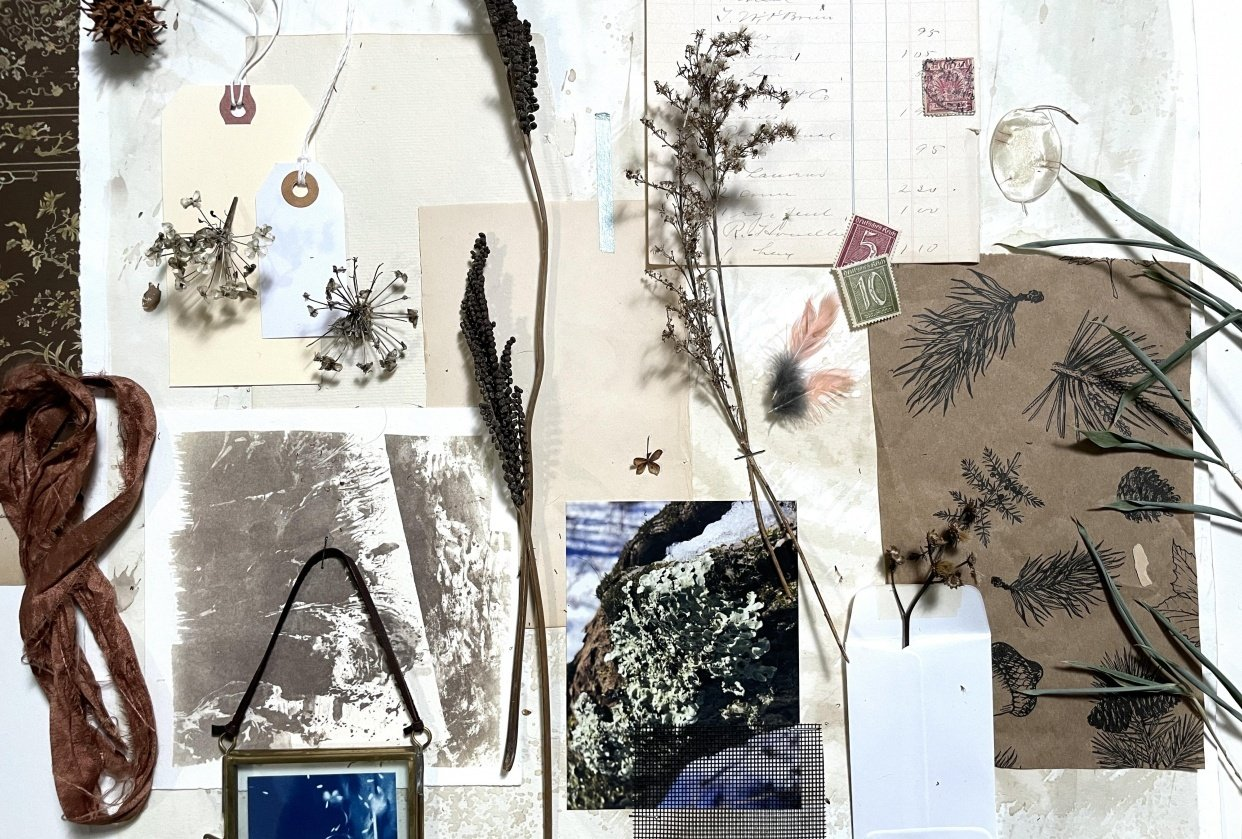 Winter Inspiration Board - student project