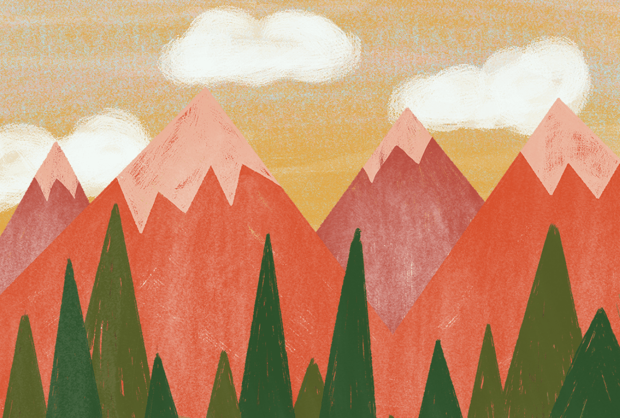 My Alpine View - student project