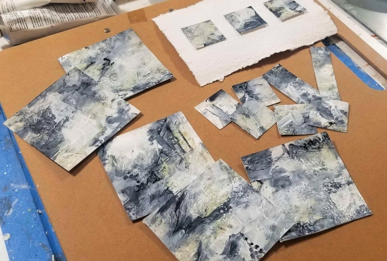 Miniature abstracts - student project