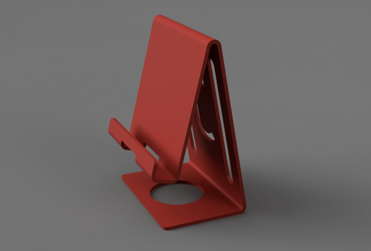 Phone Stand - student project