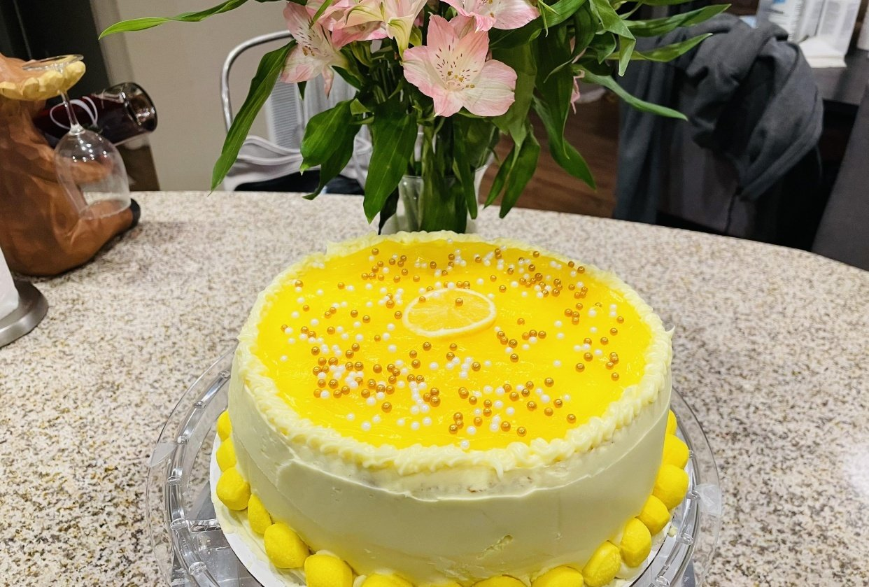 Lemon Dream Cake - student project