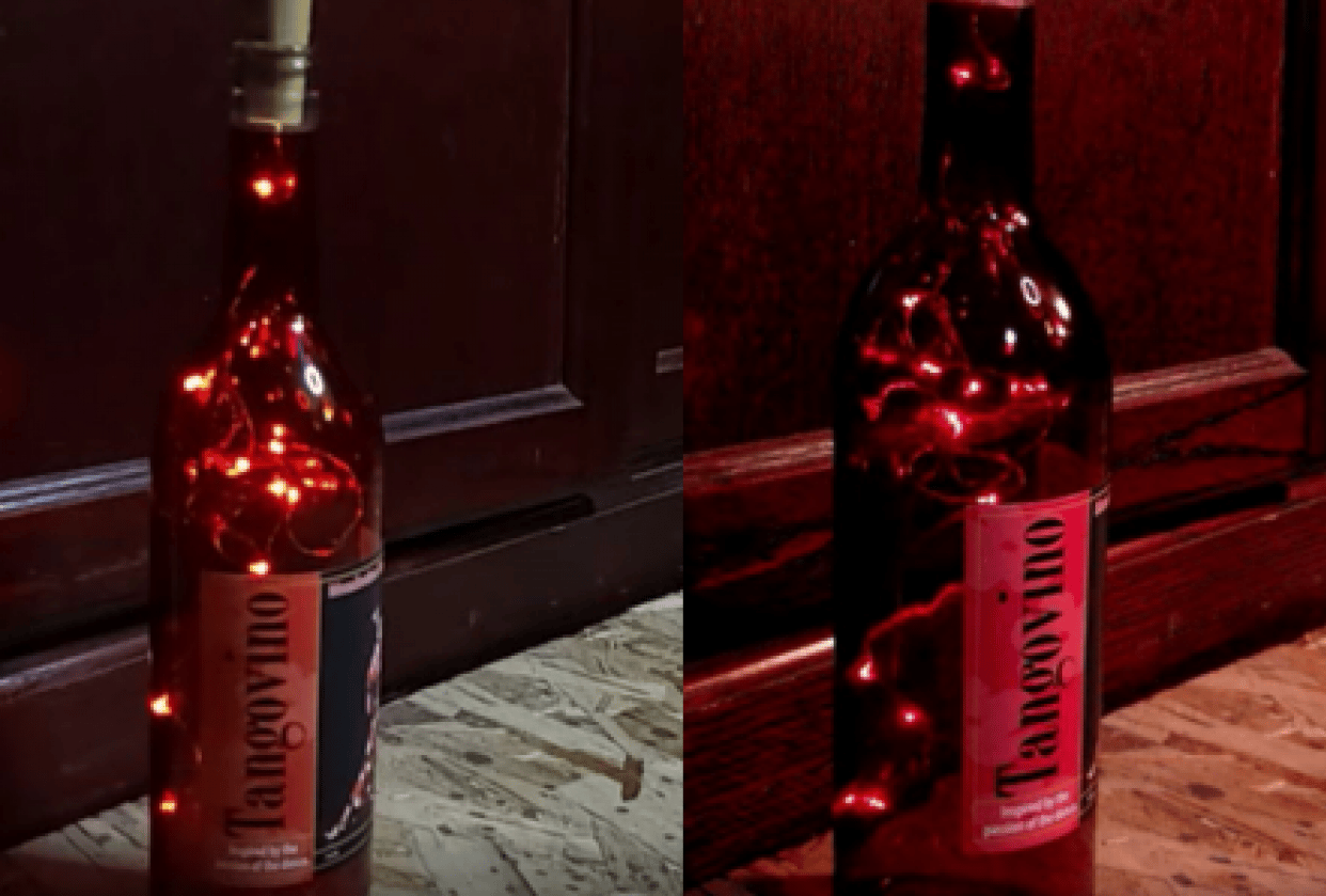 Dolly Shot of Wine Bottle - student project