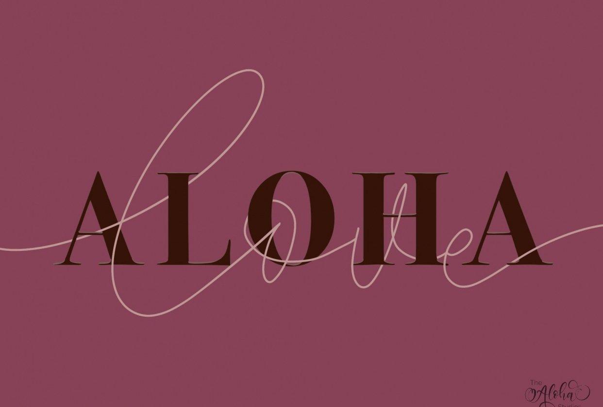 Aloha: Back on my iPad with Teela - student project