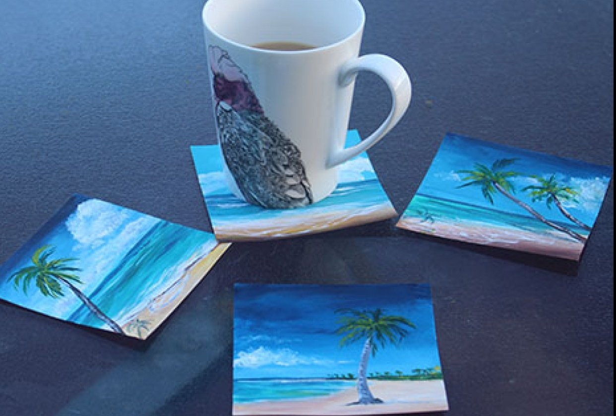Tropical Coasters - student project