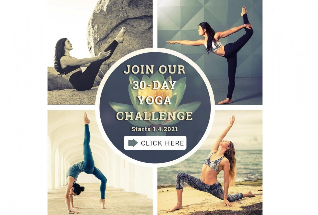 Yoga challenge - student project