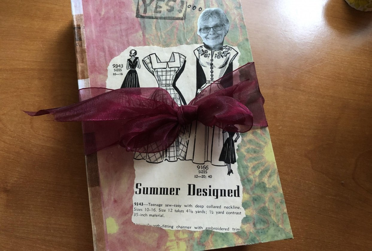 1st junk journal - student project