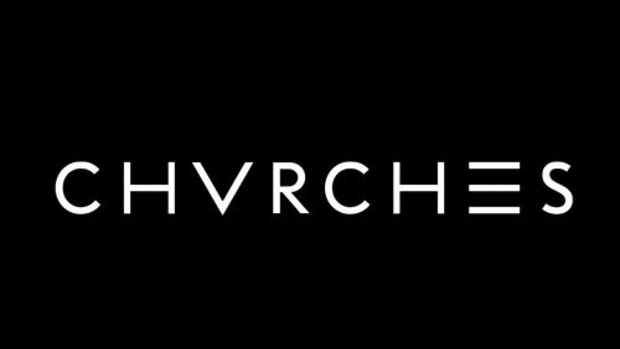 Chvrches poster - student project