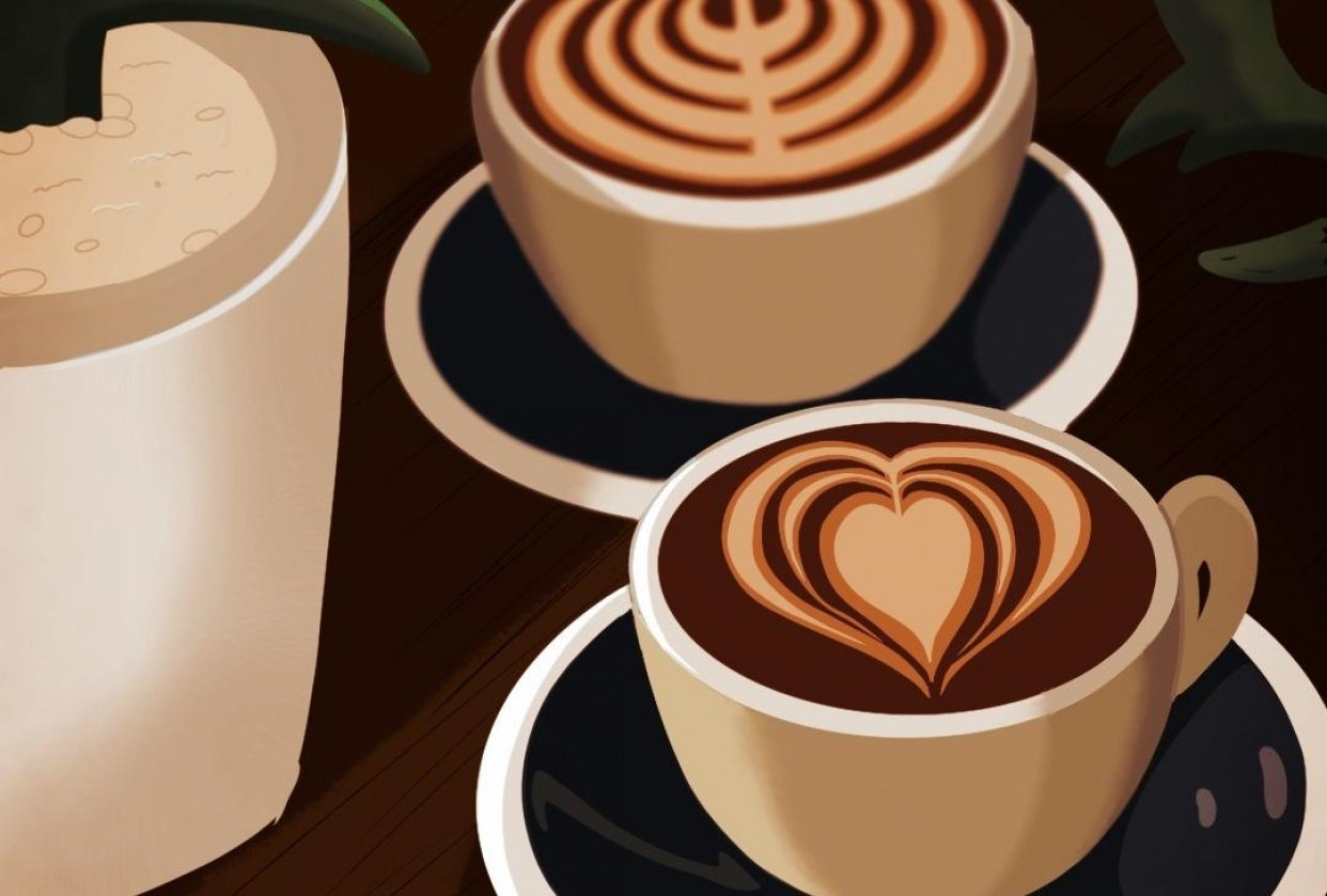 Coffee with You - student project