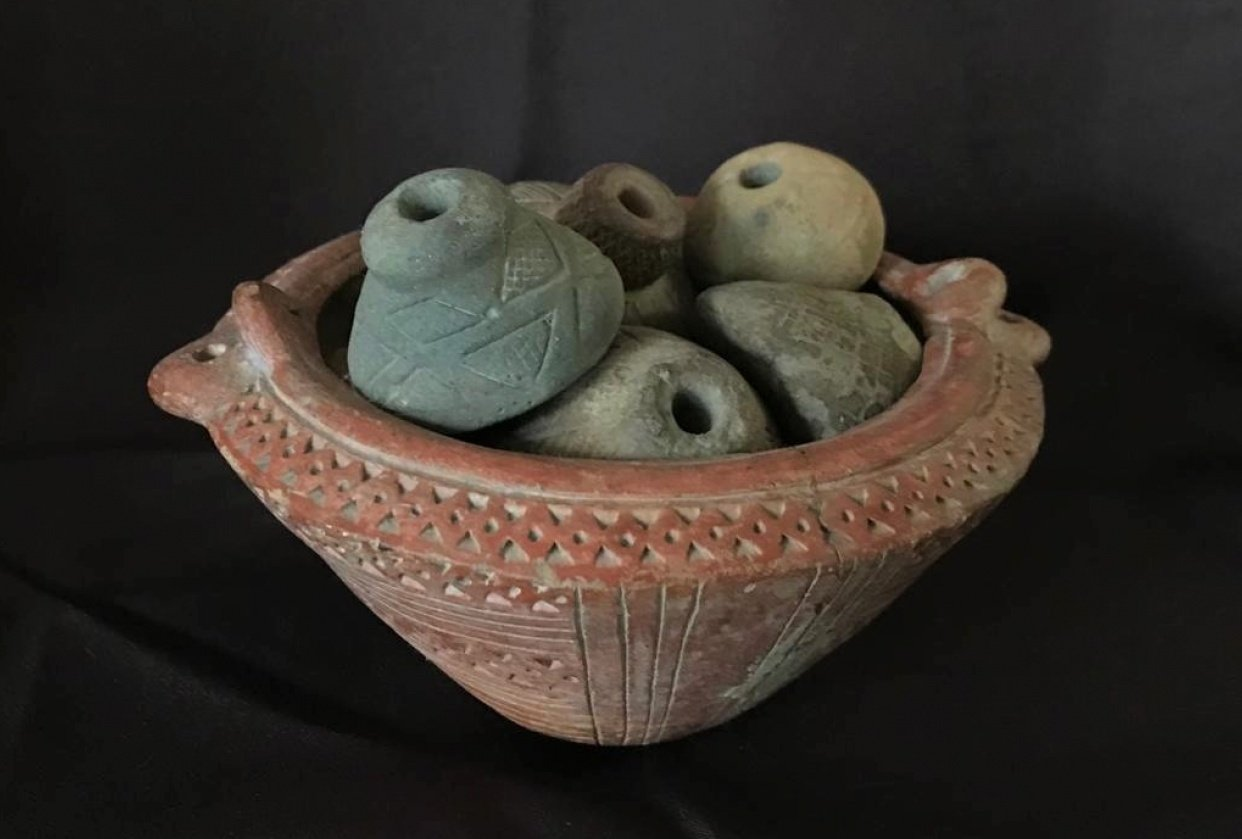 Indegenous clay pot - student project