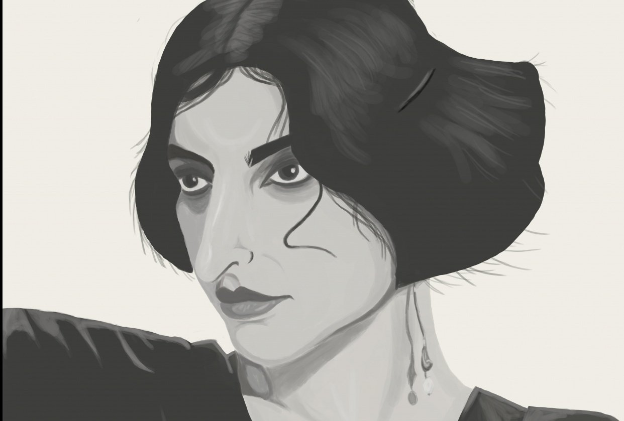 Stylised portrait project - student project
