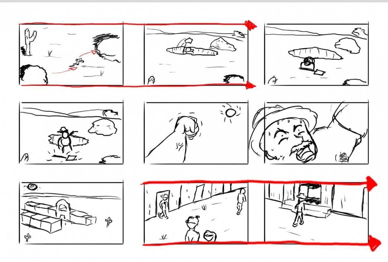 Storyboard Assignment - student project