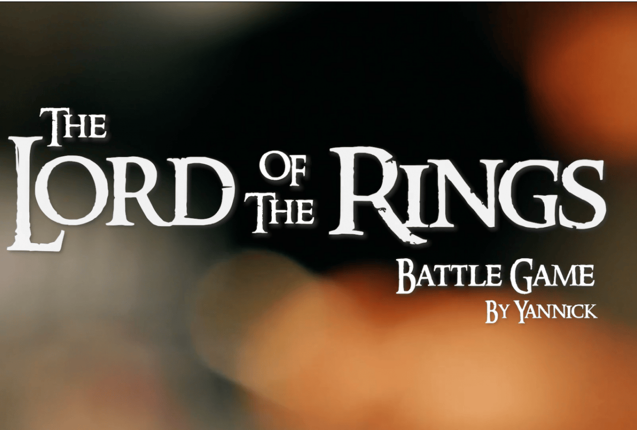 The Lord of the Rings Battle Game Interview with Yannick - student project