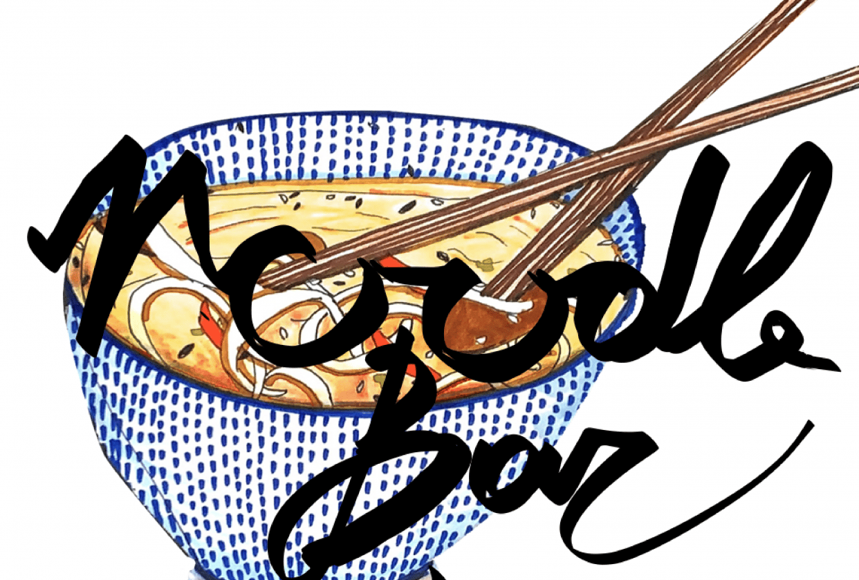 Daily Food Drawing Practice - student project