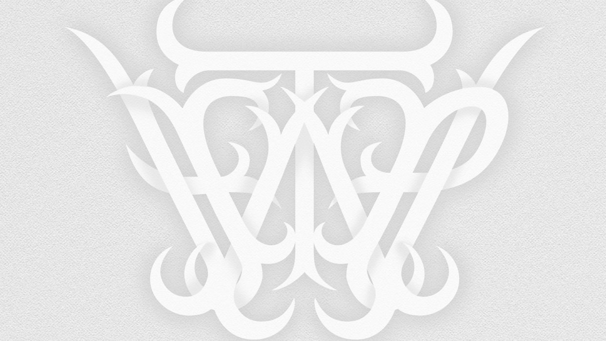Will Type For Pay Monogram - student project